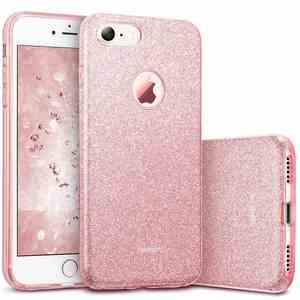 coque-iphone-7-paillettes-brillant-rose