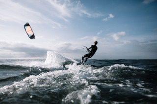 surf avec foil